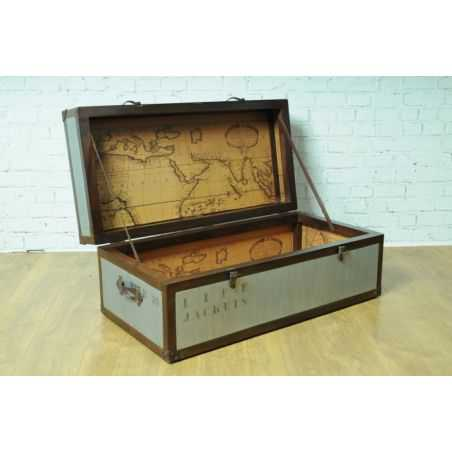 Vintage Time Traveller Trunk Table Smithers Archives Smithers of Stamford £ 758.00 Store UK, US, EU, AE,BE,CA,DK,FR,DE,IE,IT,...
