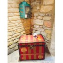 Leather Travel Trunk