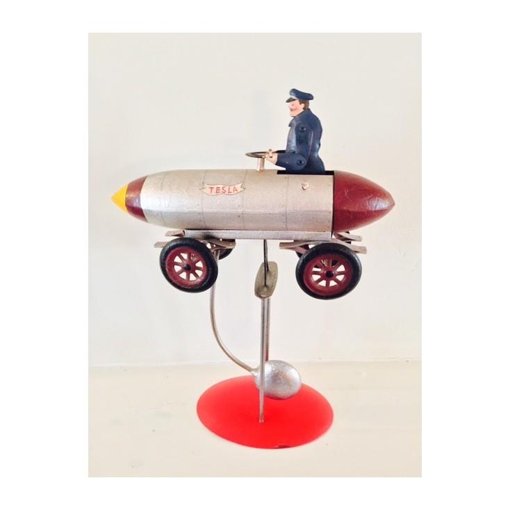Rocket Car Vintage