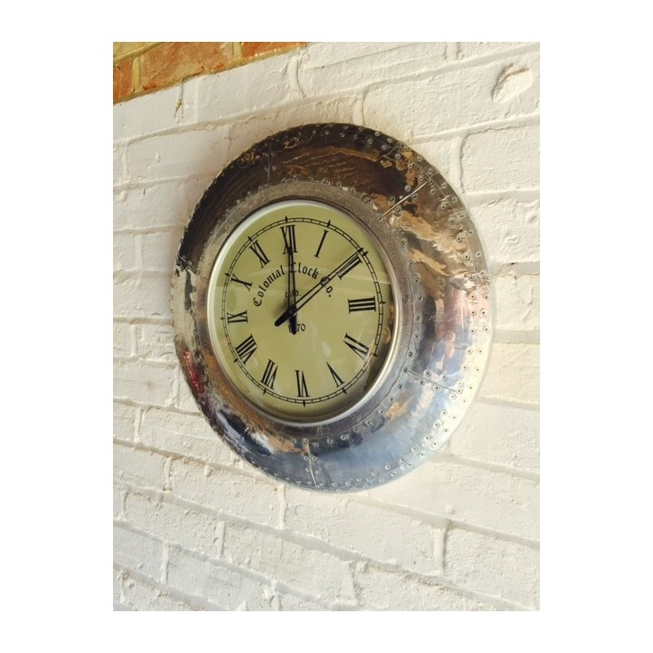 Vintage Aviator Clock Home Smithers of Stamford £ 168.00 Store UK, US, EU, AE,BE,CA,DK,FR,DE,IE,IT,MT,NL,NO,ES,SE