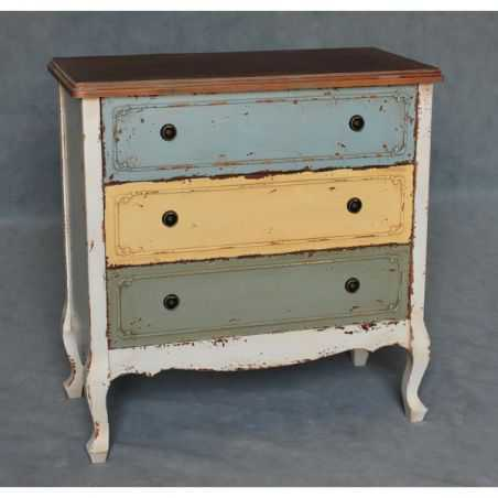 Shabby French Multi Colour Style Chest of Drawers Home Smithers of Stamford £ 320.00 Store UK, US, EU, AE,BE,CA,DK,FR,DE,IE,I...