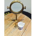 Vintage Brass Magnifier On Stand