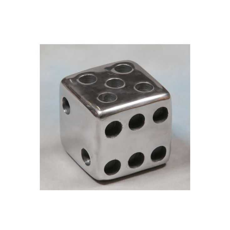 Metal Dice Paper Weight Smithers Archives Smithers of Stamford £ 28.50 Store UK, US, EU, AE,BE,CA,DK,FR,DE,IE,IT,MT,NL,NO,ES,SE