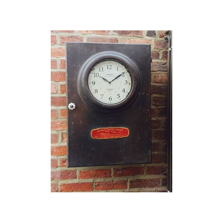 Industrial Clock Cabinet