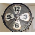 Tripod Clock Fan