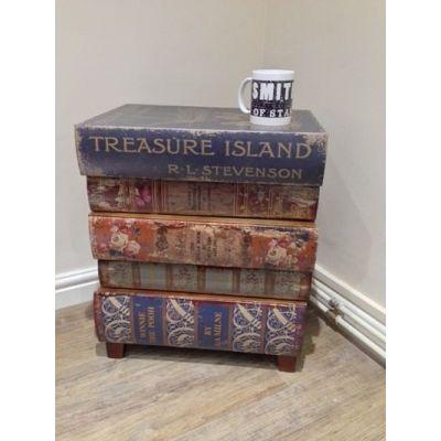 Children's Treasure Island Books Side Cabinet