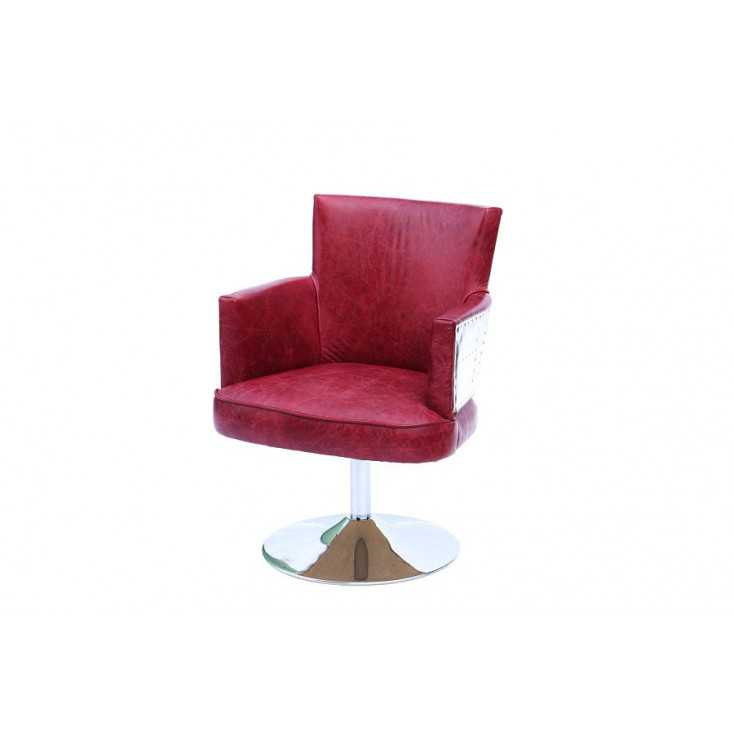 Aviator Red Leather Chair Smithers Archives Smithers of Stamford £ 610.00 Store UK, US, EU, AE,BE,CA,DK,FR,DE,IE,IT,MT,NL,NO,...