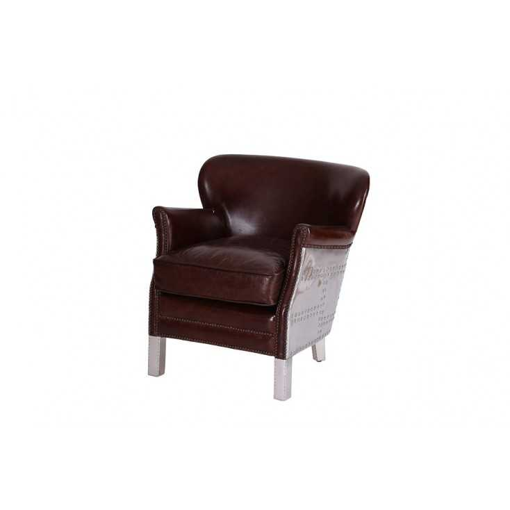 Bulldog Wood Chair ~ Get seated fly in our aviator chair at smithers of stamford