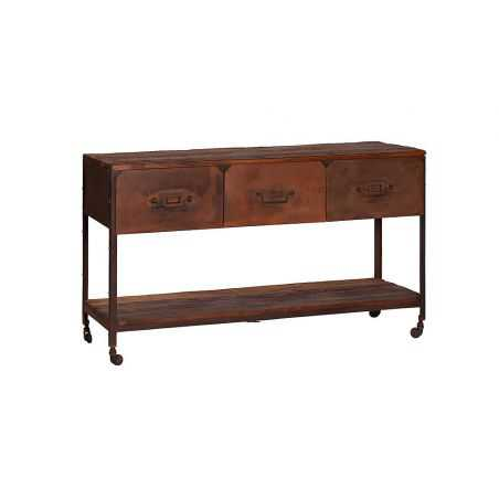 Rustic Console Table Home Smithers of Stamford £ 690.00 Store UK, US, EU, AE,BE,CA,DK,FR,DE,IE,IT,MT,NL,NO,ES,SE