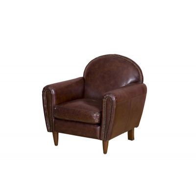 Mohawk Aviator Leather Armchair