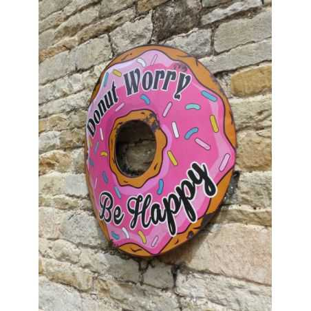 Donut Retro Sign Smithers Archives Smithers of Stamford £ 40.00 Store UK, US, EU, AE,BE,CA,DK,FR,DE,IE,IT,MT,NL,NO,ES,SE