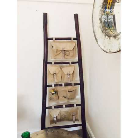 Canvas Utility Ladder Smithers Archives Smithers of Stamford £ 195.00 Store UK, US, EU, AE,BE,CA,DK,FR,DE,IE,IT,MT,NL,NO,ES,SE