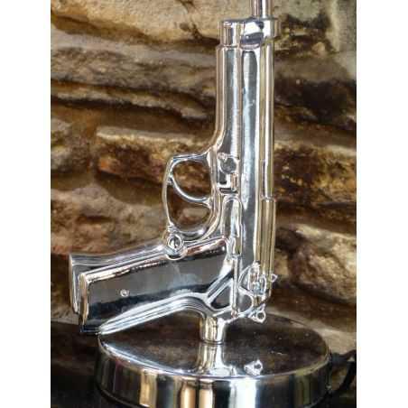 Gun Lamp Vintage Lighting  Smithers of Stamford £ 100.00 Store UK, US, EU, AE,BE,CA,DK,FR,DE,IE,IT,MT,NL,NO,ES,SE
