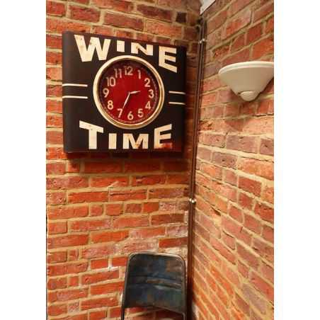 Iron Station Clock Home Smithers of Stamford £ 110.00 Store UK, US, EU, AE,BE,CA,DK,FR,DE,IE,IT,MT,NL,NO,ES,SE