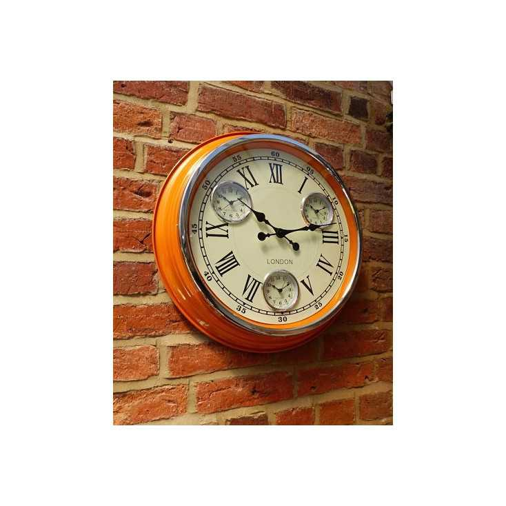 Superior Homey Ideas Retro Wall Clocks Home Designing Design