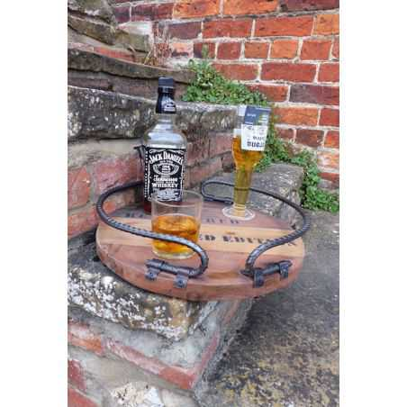 Rustic industrial Tray Home Smithers of Stamford £ 99.00 Store UK, US, EU, AE,BE,CA,DK,FR,DE,IE,IT,MT,NL,NO,ES,SE