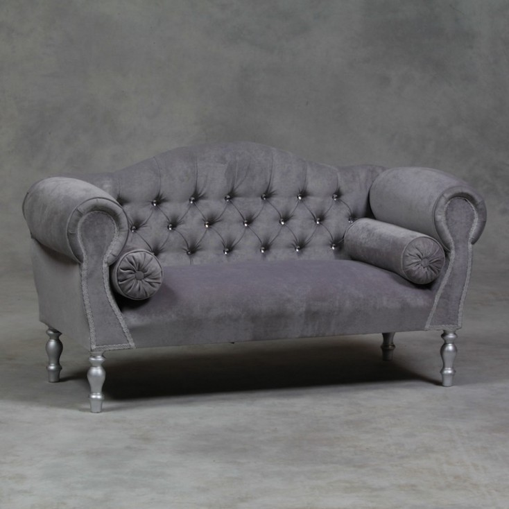 Grey Chaise Sofa