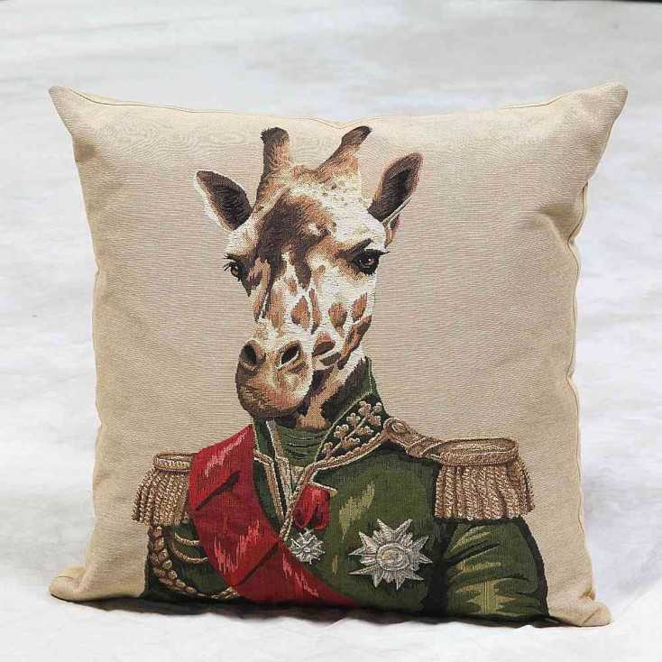 French Giraffe Cushion Home Smithers of Stamford £ 35.00 Store UK, US, EU, AE,BE,CA,DK,FR,DE,IE,IT,MT,NL,NO,ES,SE