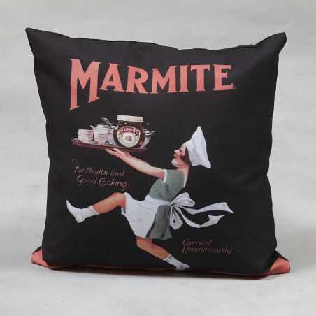 Vintage Style Marmite Cushion Smithers Archives Smithers of Stamford £ 34.00 Store UK, US, EU, AE,BE,CA,DK,FR,DE,IE,IT,MT,NL,...