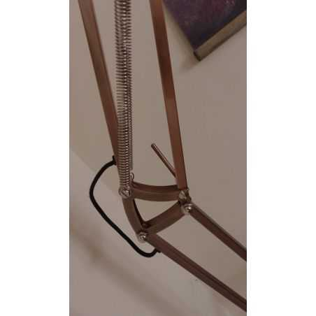 Copper Floor Lamp Home Smithers of Stamford £ 180.00 Store UK, US, EU, AE,BE,CA,DK,FR,DE,IE,IT,MT,NL,NO,ES,SE