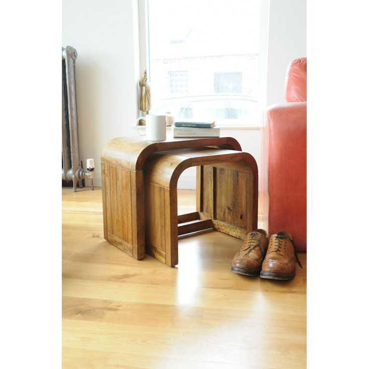 Stockholm Table Nest Retro Furniture Smithers of Stamford £265.00 Store UK, US, EU, AE,BE,CA,DK,FR,DE,IE,IT,MT,NL,NO,ES,SE