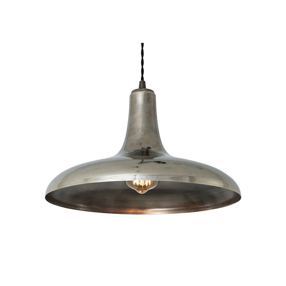 Industrial Brass Vintage Pendant Light Lights Made In The Uk