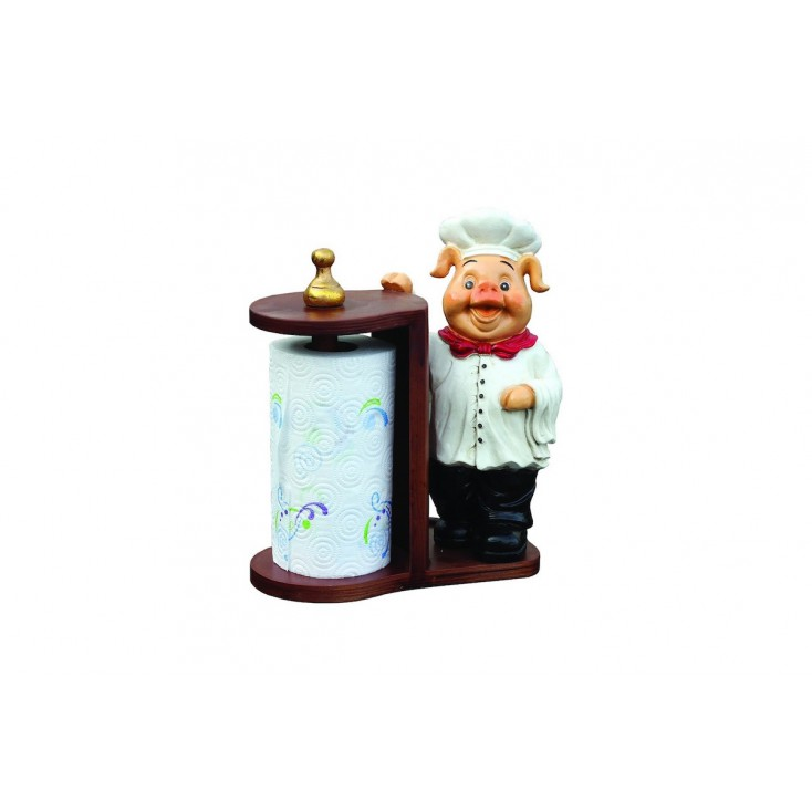 Pig Kitchen Roll Holder Home Smithers of Stamford £ 50.00 Store UK, US, EU, AE,BE,CA,DK,FR,DE,IE,IT,MT,NL,NO,ES,SE