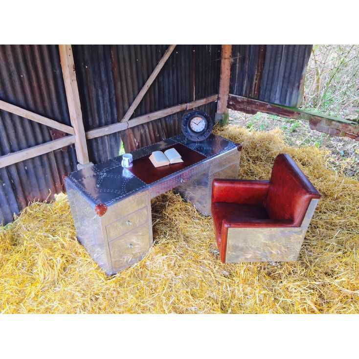 Aviator Desk Home Smithers of Stamford £ 2,557.00 Store UK, US, EU, AE,BE,CA,DK,FR,DE,IE,IT,MT,NL,NO,ES,SE