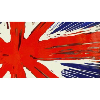 Pop Art Union Jack Abstract