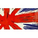Pop Art Union Jack Abstract