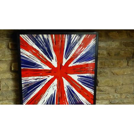 Pop Art Union Jack Abstract Vintage Wall Art  £ 300.00 Store UK, US, EU, AE,BE,CA,DK,FR,DE,IE,IT,MT,NL,NO,ES,SE