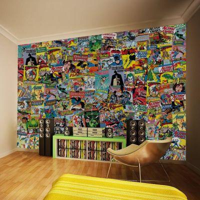 DC Comics Mural