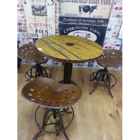 Stamford Farmer Reclaimed Round Table Home Smithers of Stamford £ 394.00 Store UK, US, EU, AE,BE,CA,DK,FR,DE,IE,IT,MT,NL,NO,E...