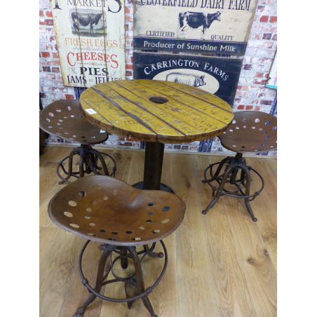 Stamford Farmer Tractor Stool Home Smithers of Stamford £ 210.00 Store UK, US, EU, AE,BE,CA,DK,FR,DE,IE,IT,MT,NL,NO,ES,SE