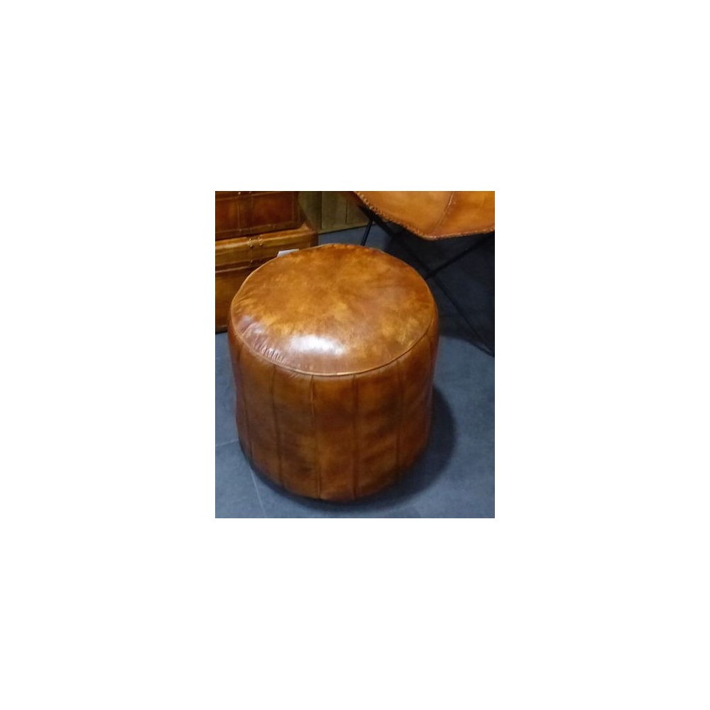 Leather Slouching Chairs