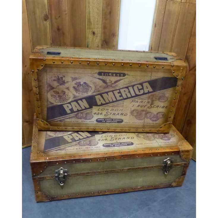 Pan America Trunk Smithers Archives Smithers of Stamford £ 335.00 Store UK, US, EU, AE,BE,CA,DK,FR,DE,IE,IT,MT,NL,NO,ES,SE