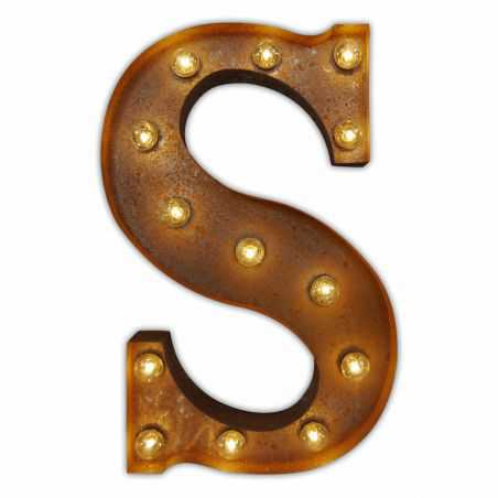 Carnival Letter Lights Home Smithers of Stamford £30.00 Store UK, US, EU, AE,BE,CA,DK,FR,DE,IE,IT,MT,NL,NO,ES,SE