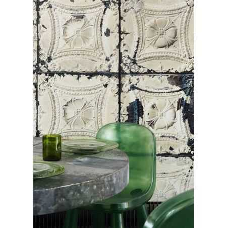 Brooklyn Tin Wallpaper Interior Wallpaper  £ 180.00 Store UK, US, EU, AE,BE,CA,DK,FR,DE,IE,IT,MT,NL,NO,ES,SE