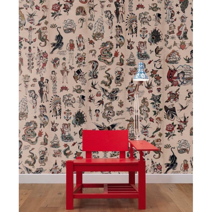 Tattoo Wallpaper Wallpaper Smithers of Stamford £ 249.00 Store UK, US, EU, AE,BE,CA,DK,FR,DE,IE,IT,MT,NL,NO,ES,SE