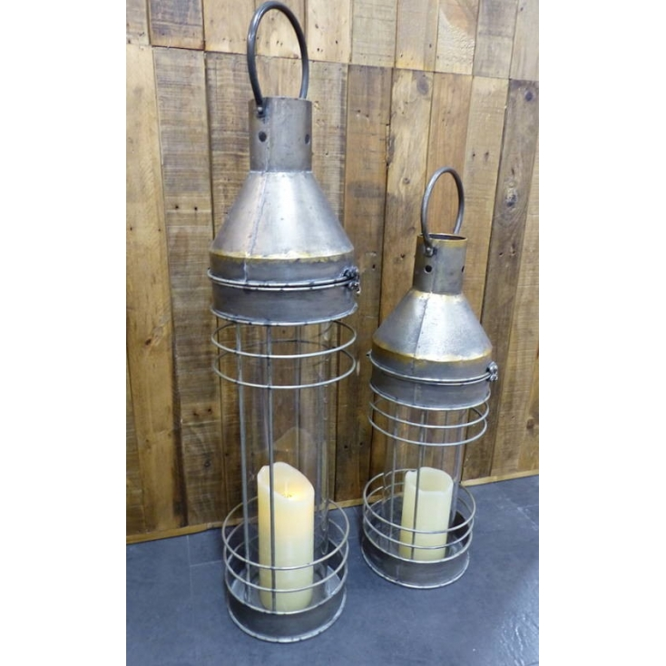 Industrial Lantern Home Smithers of Stamford £ 85.00 Store UK, US, EU