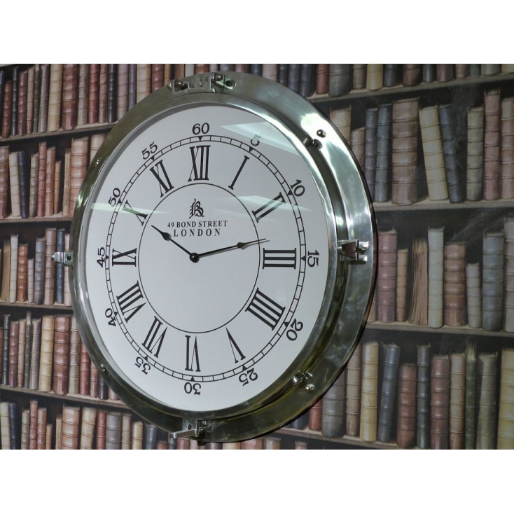 Porthole Convex Style Clocks From Smithers Of Stamford