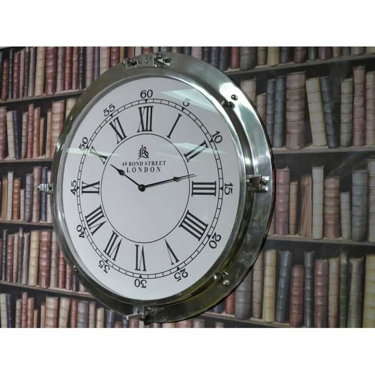 Bond St Clock Home Smithers of Stamford £ 345.00 Store UK, US, EU, AE,BE,CA,DK,FR,DE,IE,IT,MT,NL,NO,ES,SE