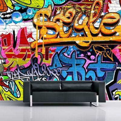 Graffiti Mural Wallpaper Smithers of Stamford £ 59.00 Store UK, US, EU