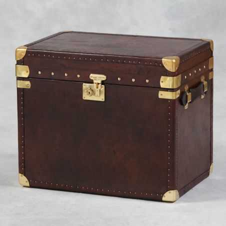 Leather Trunk Home Smithers of Stamford £ 495.00 Store UK, US, EU, AE,BE,CA,DK,FR,DE,IE,IT,MT,NL,NO,ES,SE