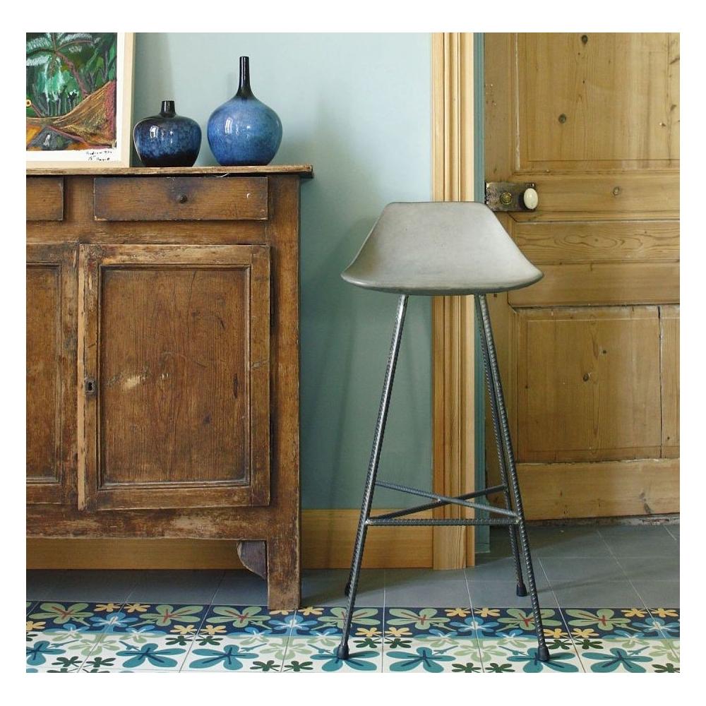 Concrete Bar Stools Hauteville Bar Chair