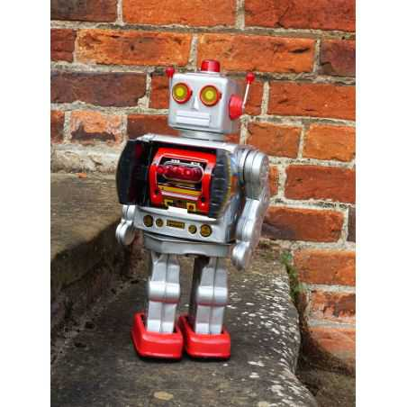 Retro Spaceman Robot Retro Ornaments Smithers of Stamford £ 48.00 Store UK, US, EU, AE,BE,CA,DK,FR,DE,IE,IT,MT,NL,NO,ES,SE