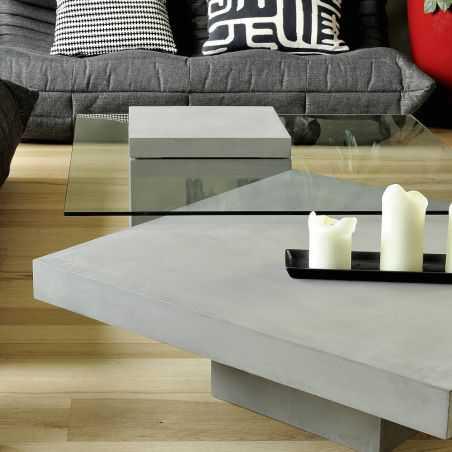 Concrete Coffee Table Side Tables & Coffee Tables Lyon Beton £ 884.00 Store UK, US, EU, AE,BE,CA,DK,FR,DE,IE,IT,MT,NL,NO,ES,SE