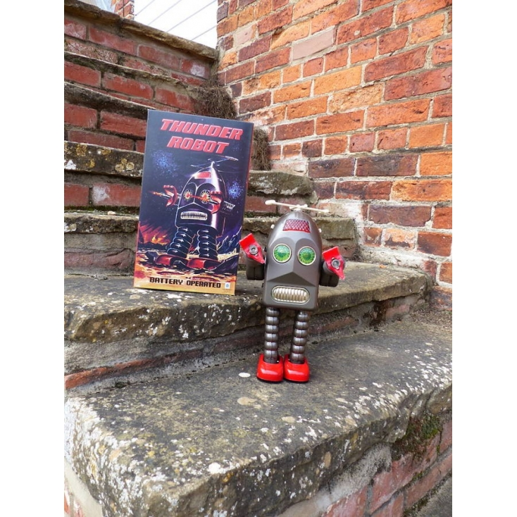Thunder RoBot Retro Gifts Smithers of Stamford £ 100.00 Store UK, US, EU, AE,BE,CA,DK,FR,DE,IE,IT,MT,NL,NO,ES,SE