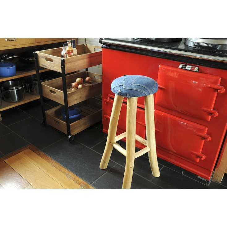Denim Breakfast Bar Stool Smithers Archives Smithers of Stamford £ 132.00 Store UK, US, EU, AE,BE,CA,DK,FR,DE,IE,IT,MT,NL,NO,...