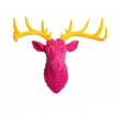 Pink Stags Head Retro Ornaments Smithers of Stamford £ 180.00 Store UK, US, EU, AE,BE,CA,DK,FR,DE,IE,IT,MT,NL,NO,ES,SE